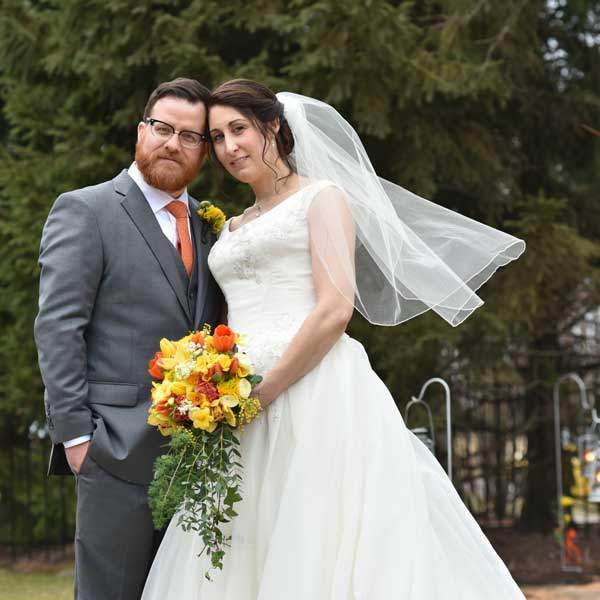 wedding portrait feature